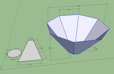 Cone kiln perspective