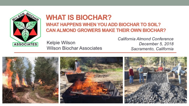 Presented at The Almond Conference, Dec 4-6, Sacramento, CA:
